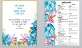 Teacher Binder/Calendar/Grade Book - Includes FREE yearly