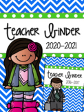Teacher Binder: Calendar, Lesson Planner, & much more...Renew each year!
