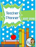 Teacher Planner - Completely Editable Teacher Plan Book With Mark Book