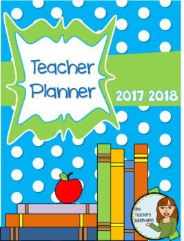 Teacher Binder - Completely Editable Teacher Plan Book