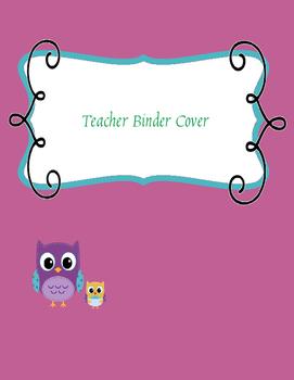 Teacher Binder Cover 1