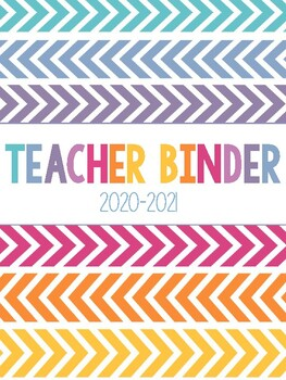 Teacher Binder Cover