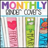 Monthly Binder Covers