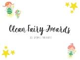 Clean (Desk) Fairy Awards