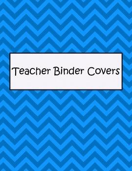 Free Teacher Binder Cover Bundle
