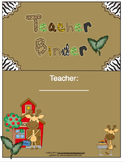 Teacher Binder Cover: Jungle Theme