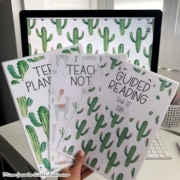 Teacher Binder Cover Pages Bundle | Editable | Set 1