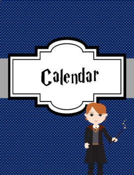 Teacher Binder Cover Pages *Harry Potter Theme* (Editable)