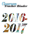 Teacher Binder Cover Printable (many colors available)