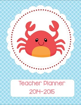 Teacher Binder Cover-Sea Animal