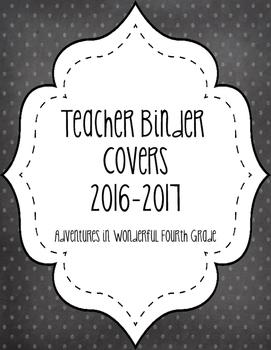 Teacher Binder Covers 2016-2017
