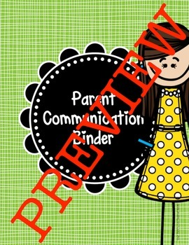Teacher Binder Covers (Both Editable and Print & Go Options)