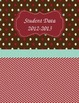 Teacher Binder Covers - Editable Brown and Red
