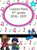Teacher Binder Covers - Editable - Rock and Roll Theme