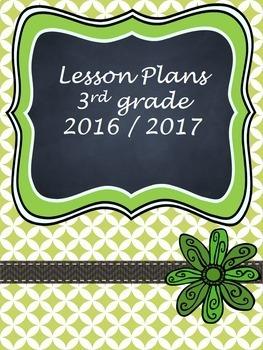 Teacher Binder Covers - Editable - Spring Green