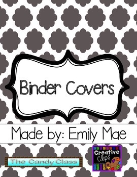 Teacher Binder Covers (Includes multiple headings!)