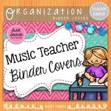 Music Teacher Binder Covers: Pink