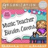 Music Teacher Planner Dividers - Pink