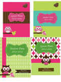 Teacher Binder Covers Owl Theme Editable!!