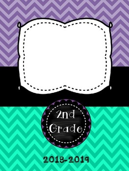 Teacher Binder & Parent Handbook Covers *EDITABLE