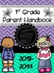 Teacher Binder & Parent Handbook Covers *EDITABLE