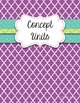 Specials Teacher Binder Covers {Purple}
