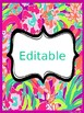 Binder Covers & Spines ~ Colorful  {EDITABLE}