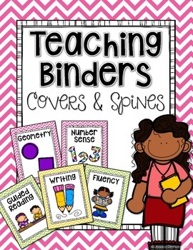 Teacher Binder Covers: Subjects