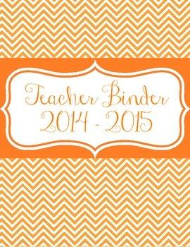 Teacher Binder Covers for 2014 - 2015