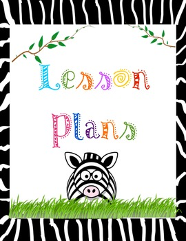 Teacher Binder Dividers and Beginning Year Information Sheets: Jungle Theme