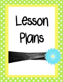 Teacher Binder Dividers and Beginning Year Information She