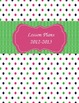 Teacher Binder Dot Cover Editable!