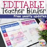Teacher Binder Farmhouse Theme