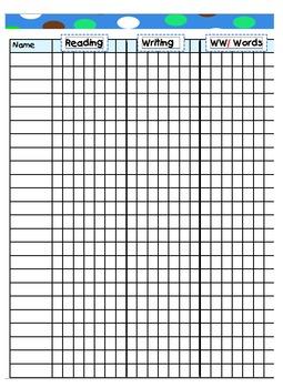 Teacher Binder Editable Conferring Notebook