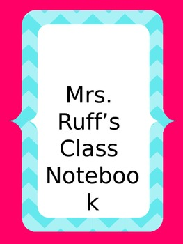Teacher Binder Editable Freebie