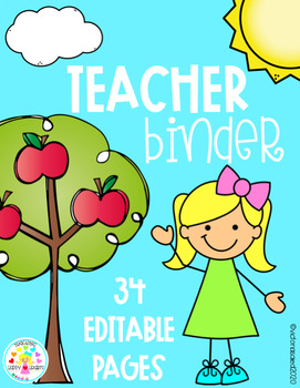 Teacher Binder {Editable Pages}
