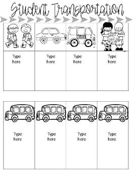 Teacher Binder Editable: SassyTeacher Theme