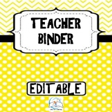 EDITABLE Teacher Binder - Teacher Planner