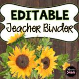Teacher Binder- Farmhouse Theme
