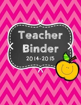 Teacher Binder Freebie