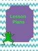 Teacher Binder-Frog Design