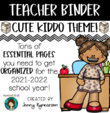 Teacher Binder! Get ORGANIZED for the 2018-2019 School Year!!!