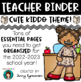Teacher Binder! Get ORGANIZED for the 2017-2018 School Year!!!