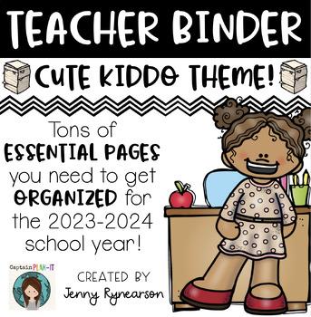 Teacher Binder! Get ORGANIZED for the 2016-2017 School Year!!!