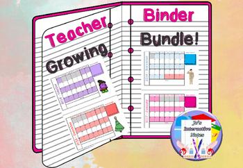 Teacher Binder - Growing Bundle!