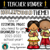 Teacher Binder! Hollywood Theme! Get ORGANIZED for the 201