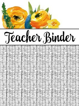 Teacher Binder: Lesson Plan Pack