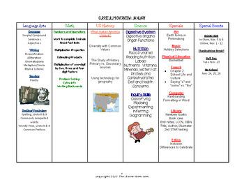 Teacher Binder Materials-- Logs, Class News, Curriculum Templates (freebie)