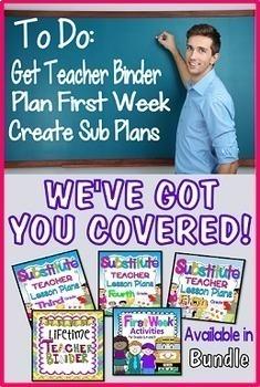 Teacher Binder Mega Bundle