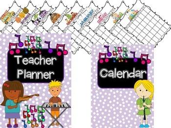 Editable Teacher Binder {Music}